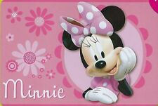 """Disney Minnie Mouse 54""""x80"""" Extra Soft Non-Slip Area Rug Play Mat Kids Playmate"""