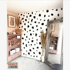 Large Dalmatian Spot Wall Stickers Patches Wall Art Vinyl Home Decor Kid PREMIUM