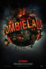 "ZOMBIELAND 2017 Advance Teaser 2 Sided 27x40"" Movie Poster Emma Stone Eisenberg"