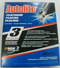 Spark Plug-Platinum Autolite AP605 BOX OF 4 SPARK PLUGS