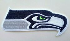 """Seattle Seahawks Embroidered 3 7/8"""" Iron On Patch"""