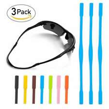"3/7pcs Silicone Glasses Sports Strap Chain Cord Holder Neck Lanyard 6"" For Kid"