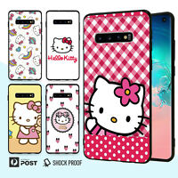 Hello Kitty Bumper Case Cover For Samsung Galaxy S10 e 9 8 Edge Plus Note 015