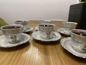 Tea Cup And Saucer Set 6: Wakbryzych