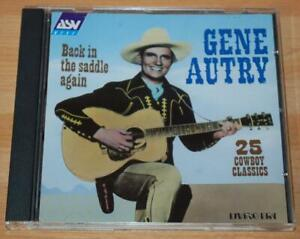 Gene Autry - Back In The Saddle Again - 1996 UK ASV Living Era Label CD