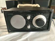 TIVOLI AUDIO HENRY KLOSS MODEL ONE AM/FM TABLE RADIO BLACK WOOD CASE