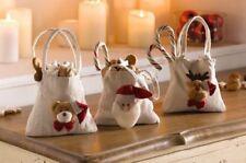 Chaussettes de Noël blanc sans marque pour la maison