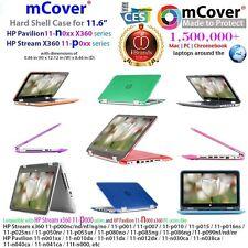 """Caso de cáscara duro Mcover para 11.6"""" HP Stream X360/Laptop Convertible Pavilion X360"""