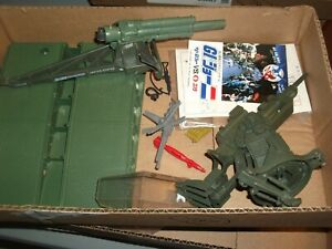 "1980s-90  # 737 batch LOT Vintage 3 3/4"" Gi Joe vehicle & figure parts"