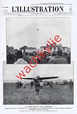 L'illustration n°4503 du 22/06/1929 Aviation Roumanie théâtre Pigalle ad pub