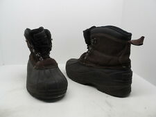 Coleman Men's Glacier Mid Lace Up Shell Boots Brown Size 9M Used w/ Defect!!!