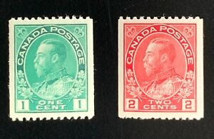 Canada Stamps. SC 131 & 132. 1915. MH. **COMBINED SHIPPING**