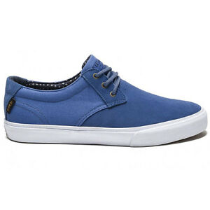 Lakai Footwear MJ (Marc Johnson) Skateboard Shoes Blue Suede
