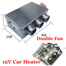 3 Port 12V Portable Winter Car SUV Heater Cooling Fan Heater Defroster Demister