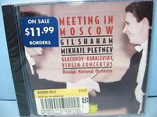 Glazunov/Tchaikovsky VIOLIN CONCERTOS Shaham-violin, Russian NO/Pletnev DG New
