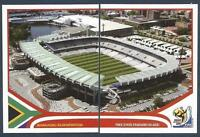 PANINI-SOUTH AFRICA 2010 WORLD CUP- #014-#015-BLOEMFONTEIN-FREE STATE STADIUM