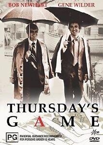 Thursday's Game (DVD, 2005) *Bob Newhart & Gene Wilder* RARE REGION 4 BRAND NEW