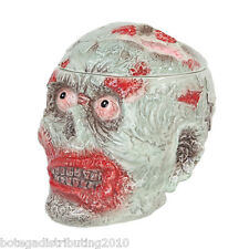 Zombie Ceramic Cookie Jar Undead Halloween Canister Walking Dead Scary Candy Jar