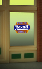 Miller's Rexall Drugs Animated Neon Window Sign #8820 O/HO MILLER ENGINEERING