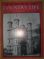 VINTAGE COUNTRY LIFE MAGAZINE JANUARY 12th 1961 IDEAL BIRTHDAY GIFT - EASTWELL