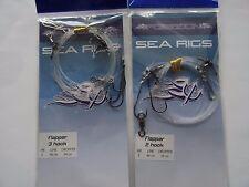 2  Sea Fishing FLAPPER RIGS
