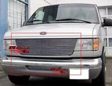 Fits Ford Econoline Van Billet Grille Combo 92-06