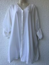Givency Paris Oversized 100 % Silk Blouse/ Top size Xl/XXL Pre-owned