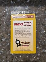 ENTEI #34 Black Star Promo Pokemon Card Sealed Holo WOTC NEO Rare 🔥 🔥 🔥