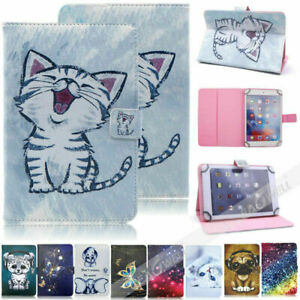 "For New AT&T Primetime 2017/ZTE K92 10"" Folding Cartoons Tablet Stand Case Cover"