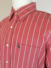 Abercrombie and Fitch Men's Muscle Fit Long Sleeve Button Down Shirt XXL Striped