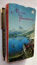 WARNE'S Zig-Zag Livres Alpine Fleurs: 2 48 Séparé Couleur Studies C1960 Rare
