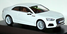 Audi A5 Coupe Typ F5 2016-20 Gletscherweiss Glacier White Metal 1:43 Spark