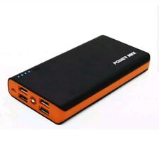 Portable Power Bank Charger 20000mah for Mobile Phone Four USB Ports Gift