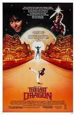 THE LAST DRAGON  (1985) ORIGINAL MOVIE POSTER  -  ROLLED