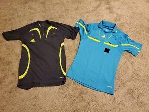 2 Adidas Men's soccer referee jerseys (small)