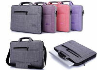 "Laptop Shoulder Bag Cover Case  For 15"" 15.4"" 15.6"" Computer Notebook PC"
