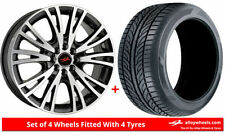 Civic 4 Car Wheels with Tyres