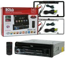 BOSS Audio BV9976B Car Audio 1-DIN Flip-Out 7