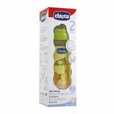 Chicco BENESSERE 250 ml BABY Biberon Tettarella in silicone BPA FREE 2m+ - NUOVO