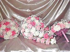 Mariage bouquet paquet 1 x mariées larme 2 x demoiselles d'honneur & 6 x boutonnières