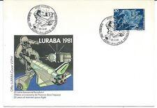 1981 Luzerne Astro Philatelie Covre Space Shuttle