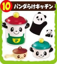 Rare! Re-ment Miniature Animal Village set #10 - Panda