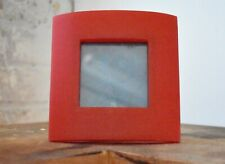 Curved Square Frame - Red