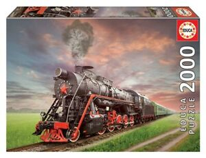 Educa 2000 Piece Jigsaw Puzzle - Steam Train