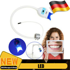 LED Zahnaufhellung Lampe Zahnweiß Whitening Tooth Bleaching Licht+Arm Holder DHL