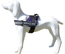Reflective Safety Nylon Service Dog Harness Vest with Handle Patches Adjustable