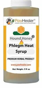 Hound Honey: Phlegm-Heat Syrup - Natural Remedy Dog's Cough-Suppressant-5 fl oz