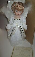 """2000 Heritage Signature Collection Grace Millennium Angel Doll Porcelain 18"""""""