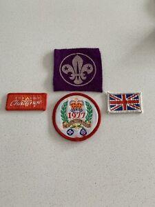 4 X Boy Scout Badge