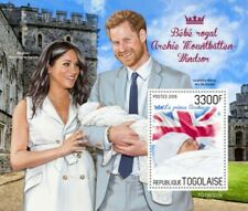 Togo - 2019 Royal Baby Prince Archie - Stamp Souvenir Sheet - TG190320b